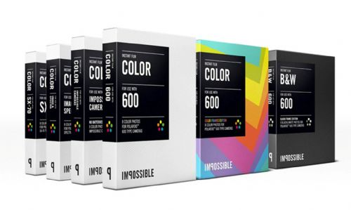 Impossible instant colour film for 600-Type Classic Polaroid Cameras